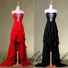 New Womens Long to Short Cocktail Club Dresses Plus Size Party Prom Ball Gowns