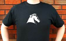 HORSE HEAD HORSES KNIGHT CHESS GRAPHIC T-SHIRT TEE FUNNY CUTE