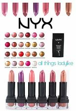 NYX Lipstick Diamond Sparkle CHOOSE SHADE Nude Pink Purple Brown Orange makeup