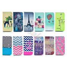 For Mobile Phones Case Colored Wallet PU Leather Stand ID Card Cover Well Design