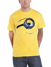Despicable Me 2 Stuart Official Mens Yellow T Shirt Minion Tee Shirt New