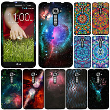 For LG G2 VS980 Verizon Clash of Cosmo Galaxy Snap On HARD Case Cover Accessory