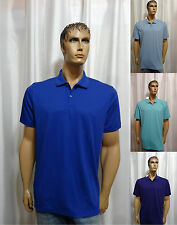 Calvin Klein Liquid Cotton Solid Polo Shirt colors L XL XXL NEW Macy's