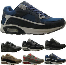 NEW MENS RUNNING TRAINERS FASHION CASUAL LACE GYM WALKING SPORTS SHOES SIZES