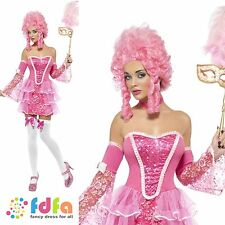 SEXY FEVER MARIE ANTOINETTE SPARKLE- UK 4-14 - womens ladies fancy dress costume
