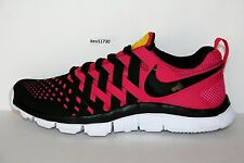 Nike Free Trainer 5.0 Cross Training Pink Black Yellow White Livestrong Men sz