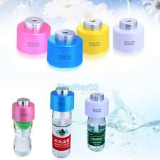 VS2# USB Portable Water Bottle Caps Humidifier Aroma Air Diffuser Mist Maker HOT