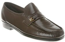 Florsheim Men's Riva Slip On Loafer Leather Dress Shoes Brown 17088