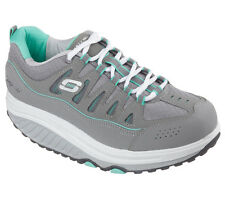 Skechers SHAPE-UPS 2.0-COMFORT STRIDE Women's Walking Shoes GRAY/MULT 57003 GYMT