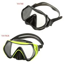 Adult Glass Swimming Swim Diving Scuba Anti-Fog Goggles Mask New[Green]
