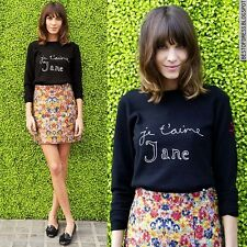 Celine Iconic Floral Jaquard Mini Skirt Pheobe Philo Resort 2012 BNWT 36 38 40
