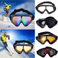 Motorcycle Dirt Bike Goggles Tactical Paintball Scratch Resist Dustproof Glasses