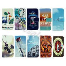 For Sony Phones Excellent PU Leather Skin Wallet Stand Card Magnetic Case Cover