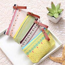 Cute Women Lady Cute Cosmetic Makeup Coin Cellphone Pouch Bag Purse Wallet New