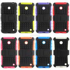 Hot Hybrid Rugged Stand Cover Hard Case Skin Shell For Nokia Lumia 630 635 A44