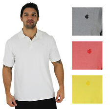 Rocawear Men's Assorted Classic Solid Color Short Sleeve Polo Shirt