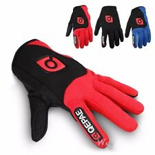 Men's Full Finger Protection Bicycle Breathable MTB Mountain Cycling Bike Gloves