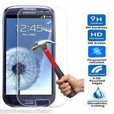 New Premium Real Tempered Glass Film Screen Protector for Samsung Galaxy S3 III