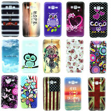 Fashion Hybrid Patterned Soft TPU Back Cover Case Skin For Samsung Galaxy Phone