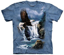 American Bald Eagle Magestic Flight Adult T-Shirt Tee