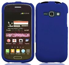 BLUE Snap-On Cover for Samsung Galaxy Ring / Prevail 2 II SPH-M840