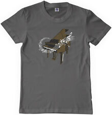 Threadrock Kids Piano Youth T-shirt Musical Instrument Pianist Player