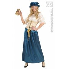 Ladies Renaissance Tavern Wench Costume for Middle Ages Medieval Fancy Dress