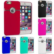 For iPhone 6 Plus (5.5) Hard Deluxe Chrome Rear Slim Case Cover Accessory