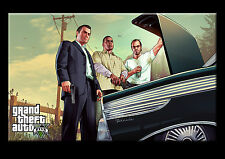 Gta 5 - Trunk 3 Men - Trevor Game Action PC Xbox Play Station Screen Shot NEW