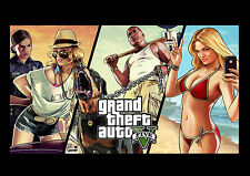 Gta 5 Sexy Ladyx3 Man Trevor Game Action PC Xbox Play Station Screen Shot NEW