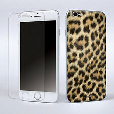 Leopard Print Vinyl Skin Sticker Cover Screen Protector For Apple iPhone 6 4.7""