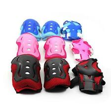 Skating Skateboard Knee Elbow Wrist Pad Protector Guard Gear for Children Kids