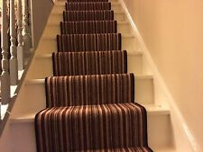 """BRAND NEW! Carpet Stair Runner With U/lay Pads And Gripper 22""""Wide X 27ft Lenth"""