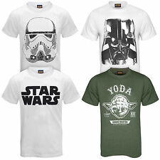 Star Wars Force Awakens Official Darth Vader Yoda Mens T-Shirt