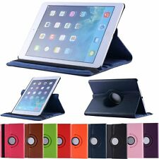 Colorful 360 Rotating PU Leather Case Cover Stand for Samsung Tablet iPad