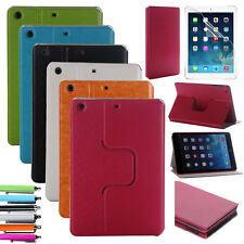 For Apple iPad mini Retina Slim Magnetic Case Leather 360° Rotating Stand Cover