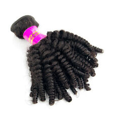 Virgin Indian Afro Kinky Curly Hair Extensions 100% Unprocessed Human Hair Weft