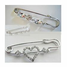 Pin Brooch, Diamante Brooch, Scarf pin, Hijab pin REDUCED TO CLEAR