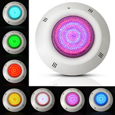 Underwater Swimming Pool Light Fountains Lamp Ground White Light &RGB 7Color 18W