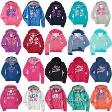 NWT AEROPOSTALE Women Pullover Long Sleeve Full Zip Hoodie Aero Sweat shirt