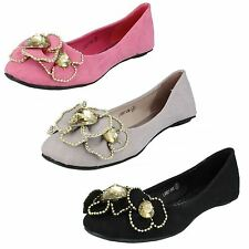 Ladies Update Slip On Flats Style - L4901