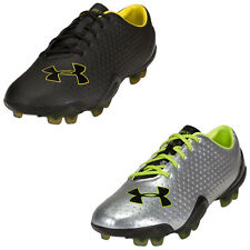 UNDER ARMOUR MENS BLUR FG FOOTBALL BOOTS - NEW SPORTS SOCCER RUGBY CLEATS UA