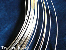 0.5oz 14KY Gold-Filled Dead Soft HALF-ROUND Jewelry Wire 16 18 20 22 24 GA Gauge