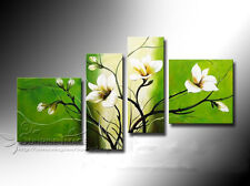 Handmade Set Floral Oil Painting on canvas art wall decor /NO Frame