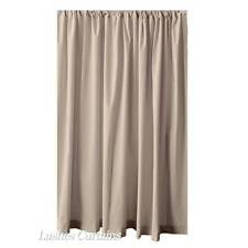 Modern Beige 243.8cm H Velvet Curtain Long Panel Window Treatment Drape