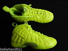 Nike Little Posite Pro shoes sneakers Youth GS new 644792 700 Foamposite Volt