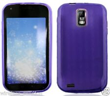 PURPLE PATTERN TPU Protector Gel Case for Samsung Galaxy S2 SGH-T989