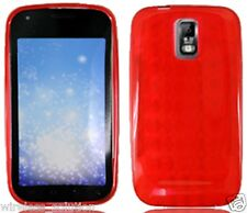RED PATTERN TPU Protector Gel Case for Samsung Galaxy S2 SGH-T989