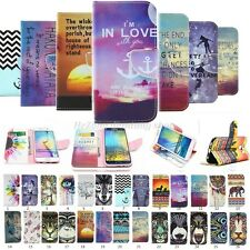 Folio Flip Wallet Card Stand Leather Case Cover For Various Samsung Galaxy Phone