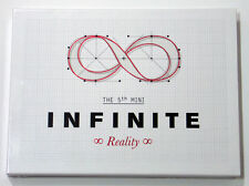 INFINITE - Reality (5th Mini Album) [Normal Edition] CD+Booklet+Photocard+Poster